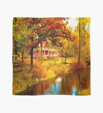House on Pine River,Wisconsin U.S.A. Scarf