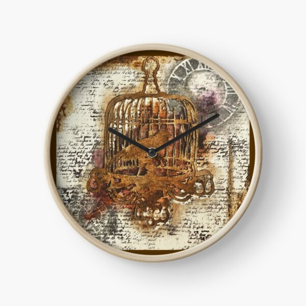 Time waits for no one Clock