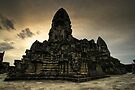 Center Stones, Angkor Wat, Cambodia by Michael Treloar