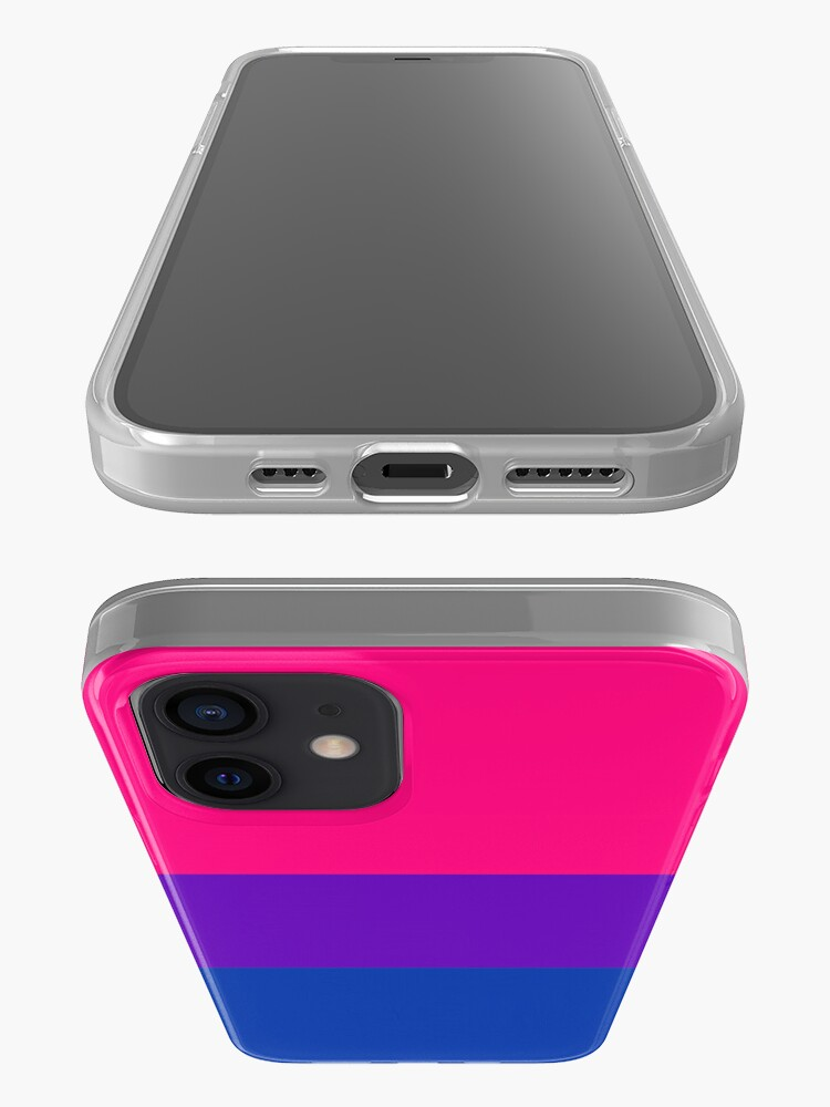 Alternate view of Solid Bisexual Pride Flag iPhone Case & Cover