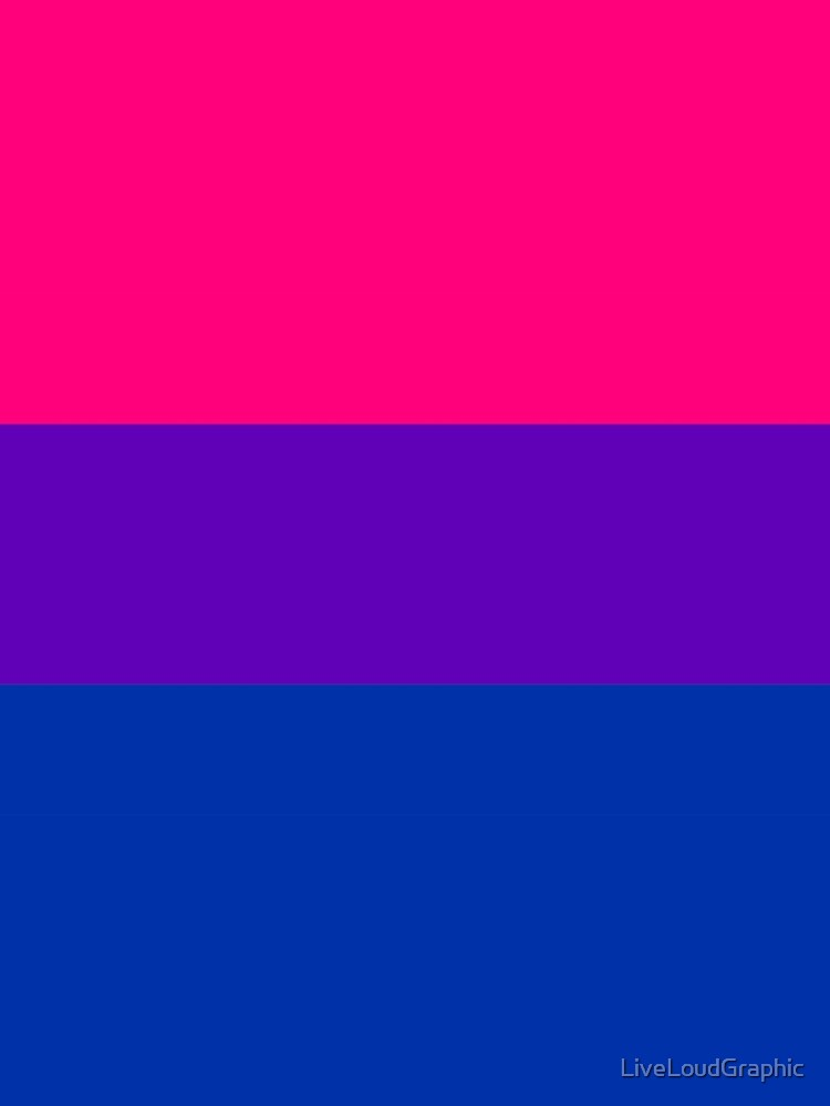 Solid Bisexual Pride Flag by LiveLoudGraphic