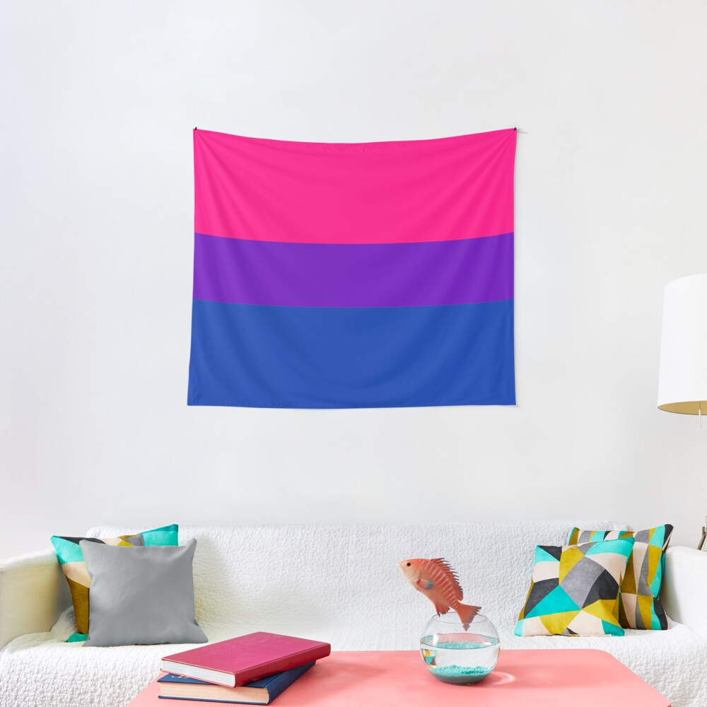 Solid Bisexual Pride Flag Tapestry