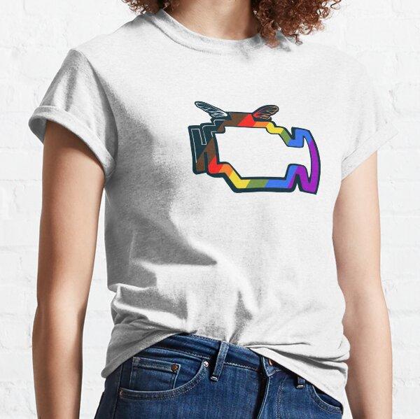 Transmission Folklore Gay Pride Logo Classic T-Shirt