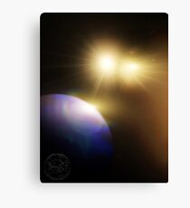 ©DigiArt Two Suns Canvas Print
