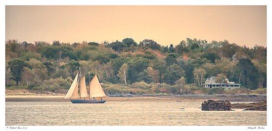 Sailing the Shoreline by Richard Bean