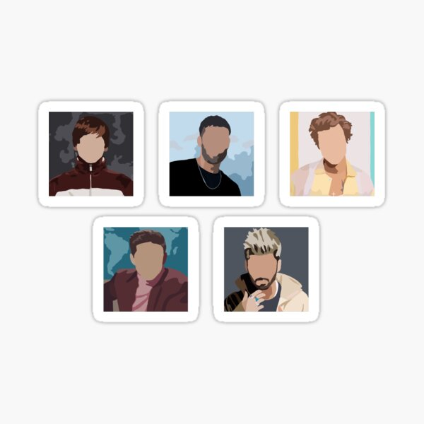 One Direction Solo Sticker Pack Sticker