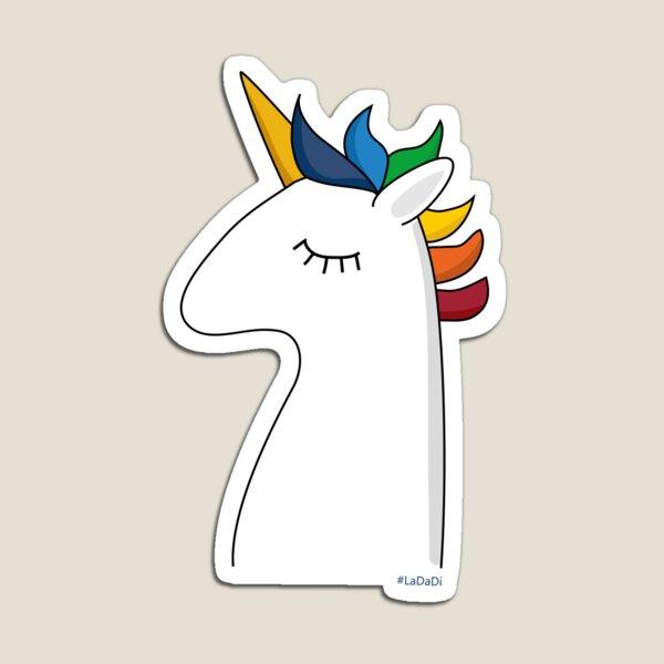 LaDaDi unicorn Magnet