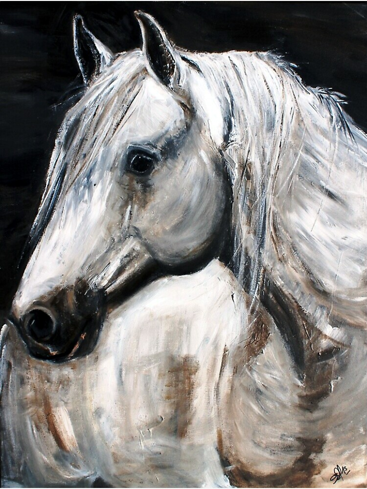 White Horse by AstridS