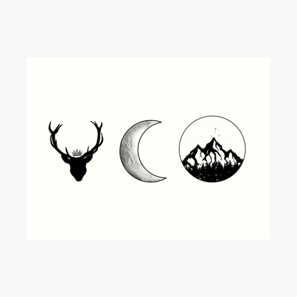 SJM Series   Black and White Art Print