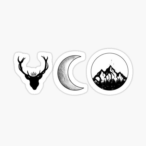 SJM Series | Black and White Sticker