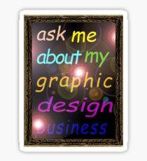 For the Budding Graphic Designer Sticker