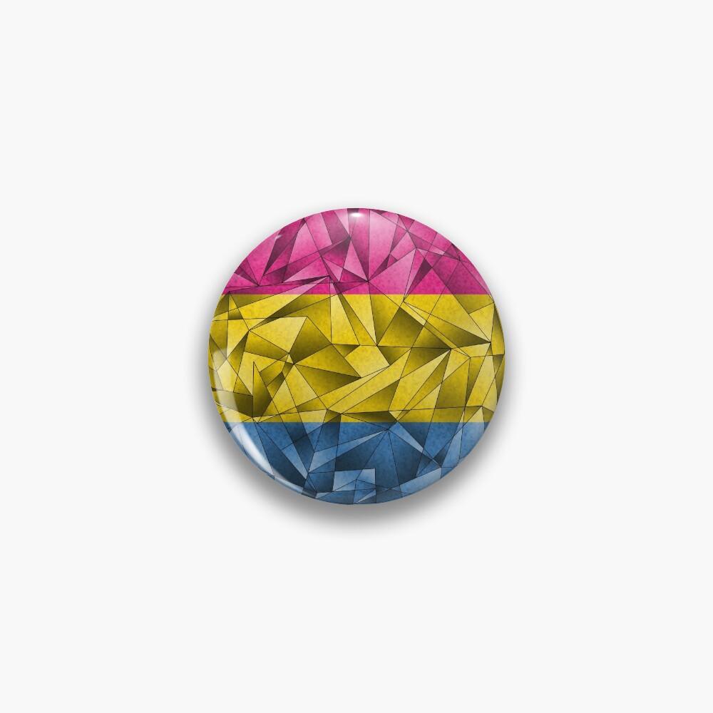 Abstract Pansexual Flag Pin