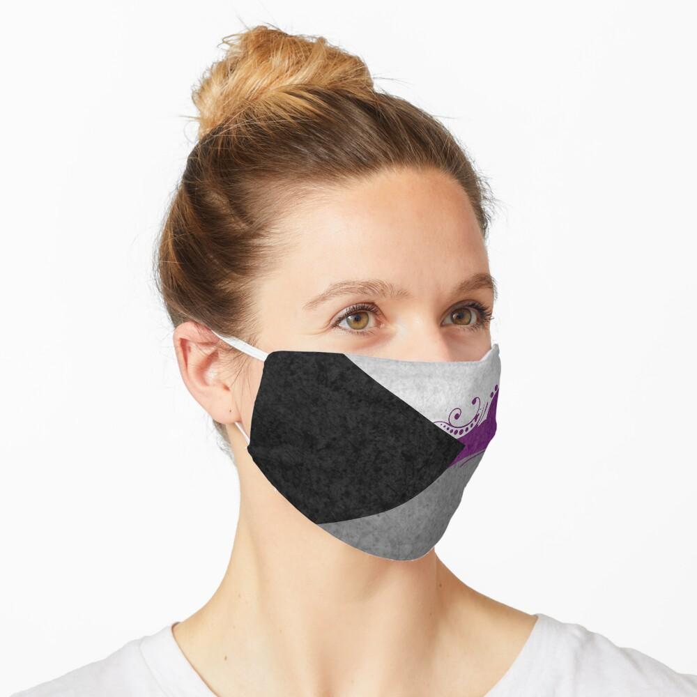 Demisexual Ornamental Flag Mask