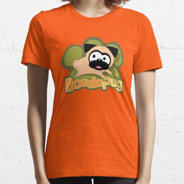 Tugg Green Pawprint Logo (Green) Essential T-Shirt