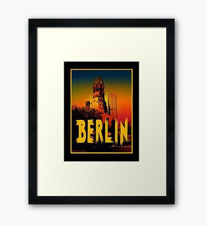 Berlin Gedächtniskirche Framed Print