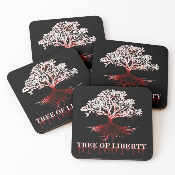 Liberty Tree Coasters (Set of 4)
