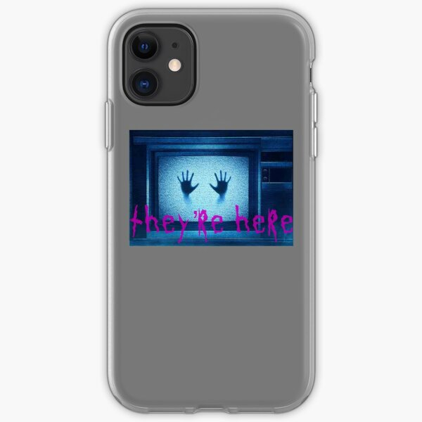 They're here iPhone Soft Case