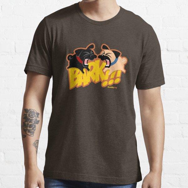 2Pug Bark! (orange) Essential T-Shirt