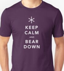 Keep Calm and Bear Down Unisex T-Shirt