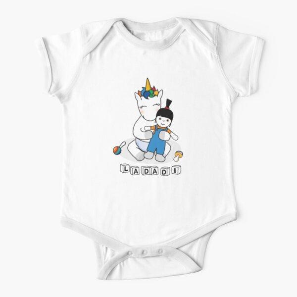 baby unicorn Short Sleeve Baby One-Piece