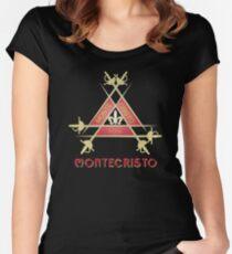 Montecristo Cuban Cigar Women's Fitted Scoop T-Shirt