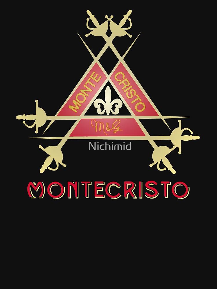 Montecristo Cuban Cigar | Unisex T-Shirt