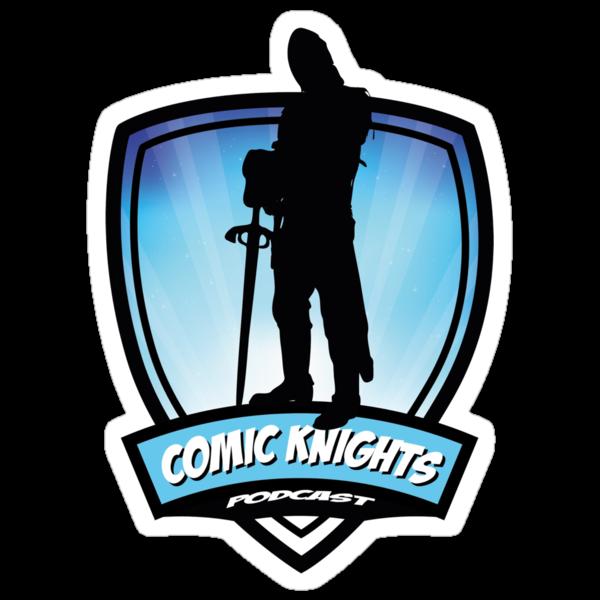 Comic Knights Tee by aqualec