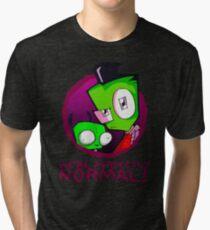 Invader Zim Gir Alien Tri-blend T-Shirt