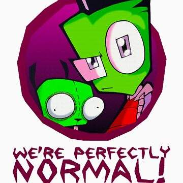 Invader Zim Gir Alien by Nichimid