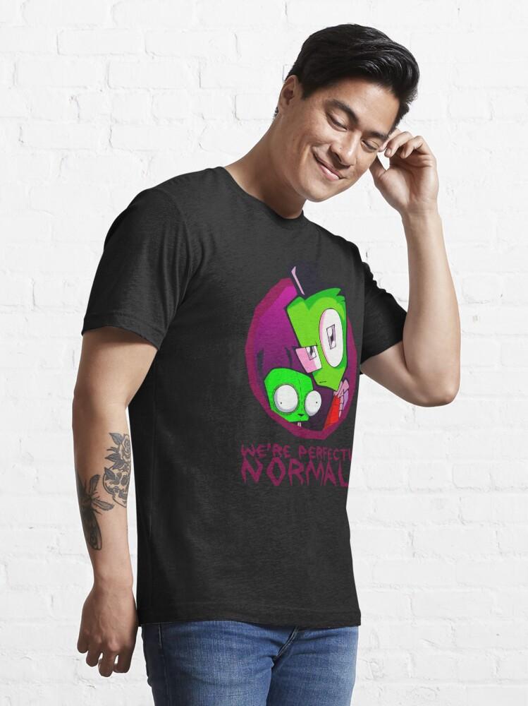 Alternate view of Invader Zim Gir Alien Essential T-Shirt
