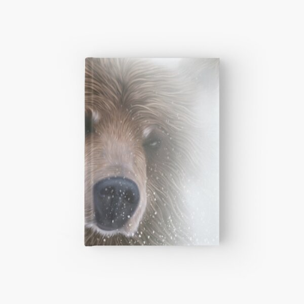 Grizzly Brown Bear Hardcover Journal