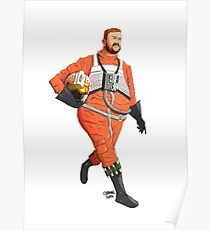 Red Six - Jef Porkins Poster