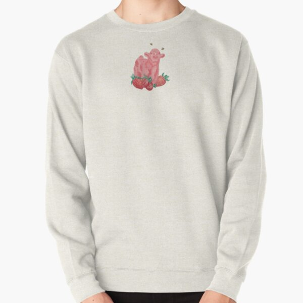 Everything Else Strawberry Cow Pullover Sweatshirt