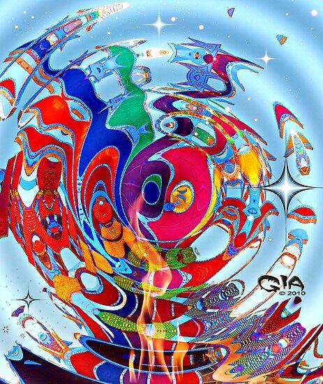 """Galaxy Overload"" by Gail Jones"