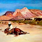 The Arab and his Steed after Jean Leon Gerome by Hidemi Tada