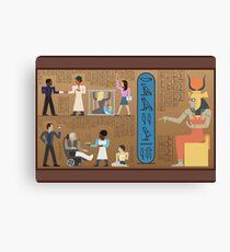 Communities of Ancient Egypt Canvas Print