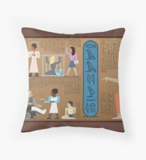 Communities of Ancient Egypt Throw Pillow