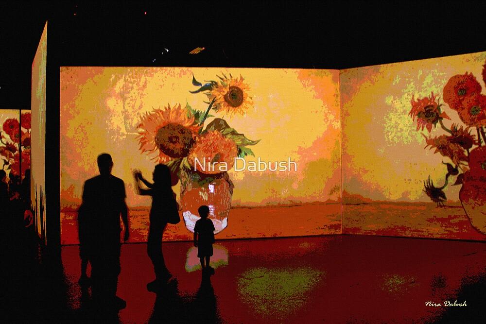 Van Gogh in Digital times by Nira Dabush