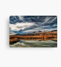 Klondike and the Sierra Nevada Canvas Print