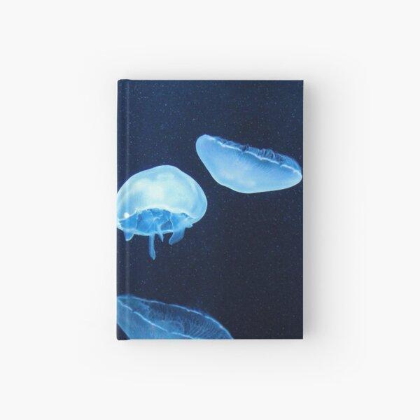 Swimming Jellyfish  Hardcover Journal