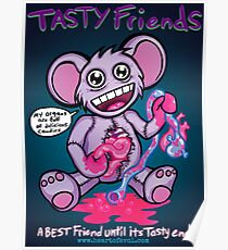 Tasty Friends Poster