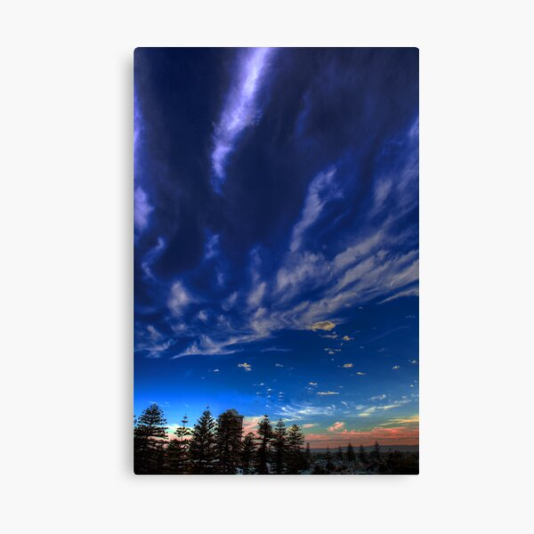 Glenelg Sunrise Canvas Print