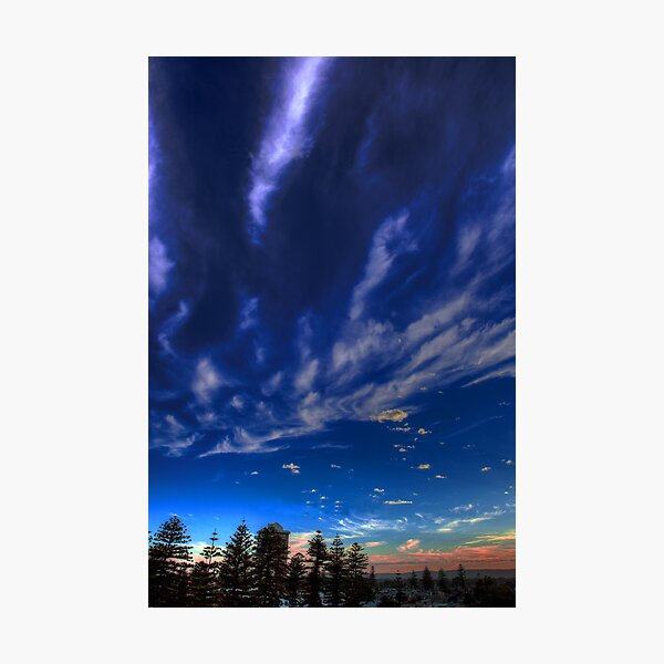Glenelg Sunrise Photographic Print