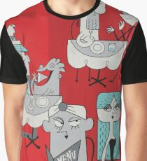 PAINT THE TOWN - Panel 2 Graphic T-Shirt