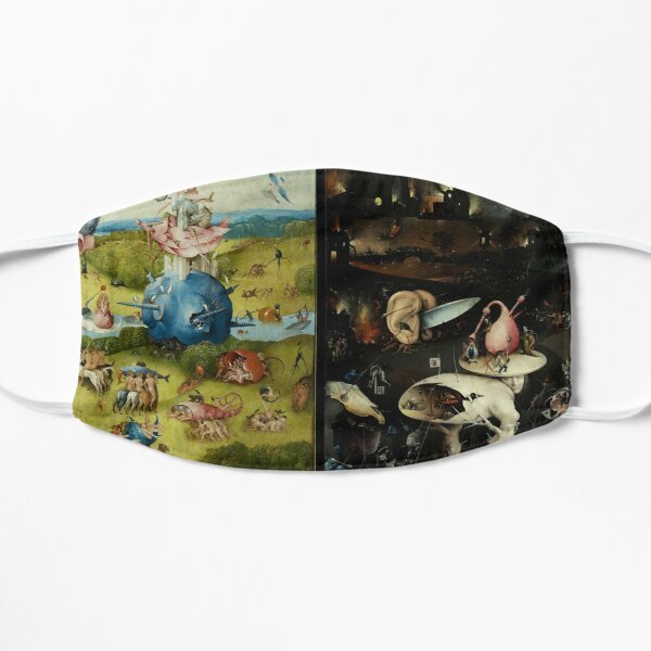 Garden of Earthly Delights , Paradise and Hell by Hieronymus Bosch Mask