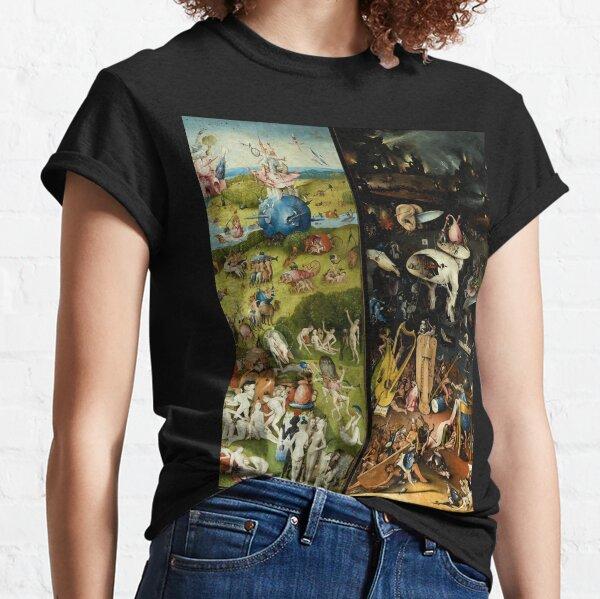 Jardin des délices terrestres, du paradis et de l'enfer par Jérôme Bosch T-shirt classique