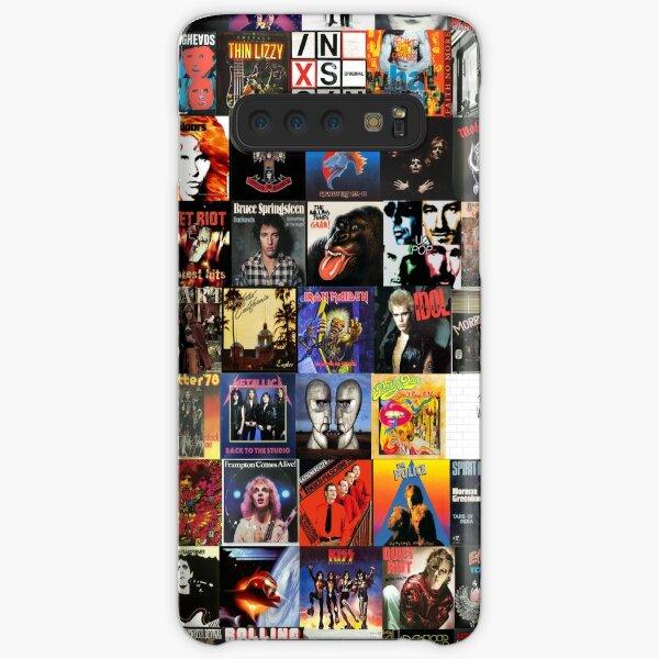 Rock Vinyl Collage  Samsung Galaxy Snap Case