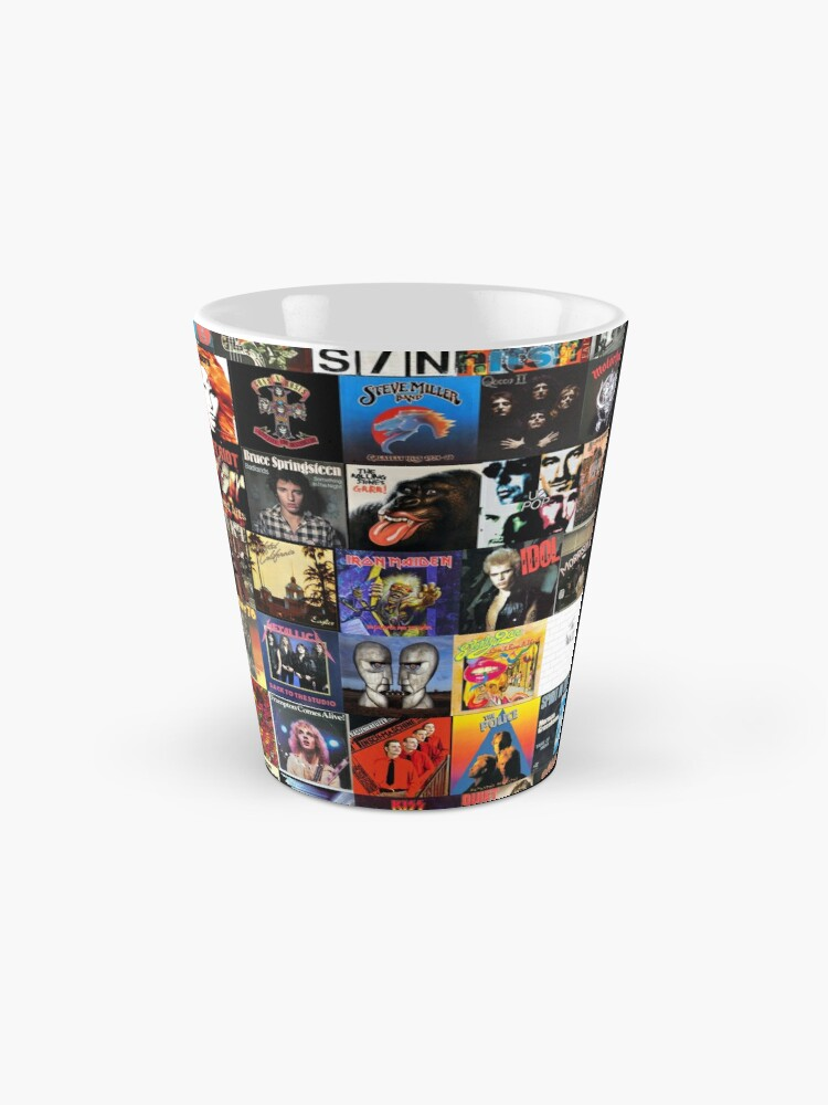 Alternate view of Rock Vinyl Collage  Mug