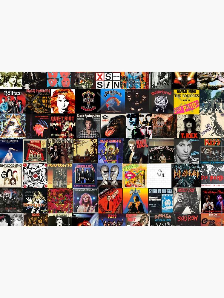 Collage de vinilo de rock de Hunter54nz