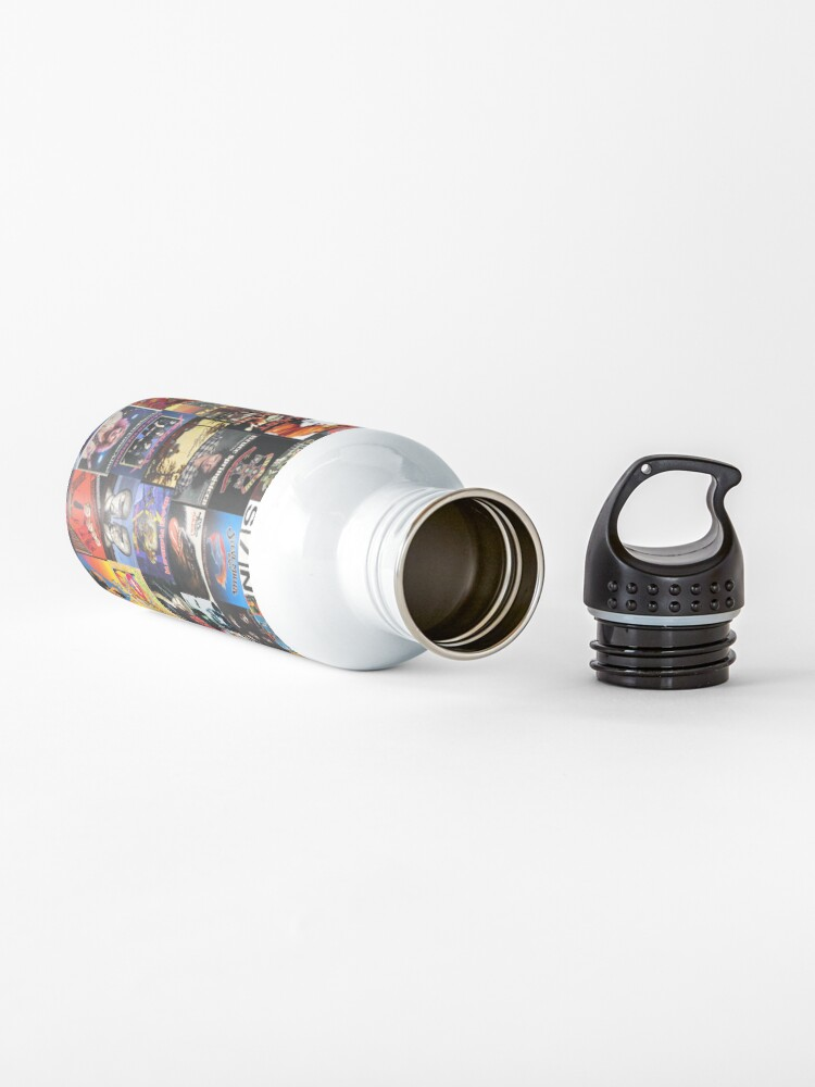 Vista alternativa de Botella de agua Collage de vinilo de rock